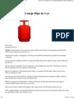 Bangla News 24 - LP Gas Demand Surge 66pc in 1-Yr
