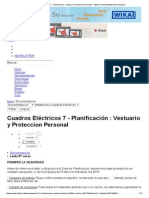 Cuadros Eléctricos 7 - Planificación _ Vestuario y Proteccion Personal - InfoPLC