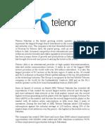 Telenor SS Report