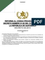 Decreto 06-13 a La Referencia `Dto.51-92