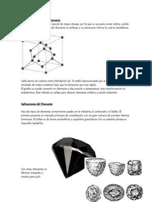 Usos Y Aplicaciones Del Diamante Y Grafito Nanotubo De