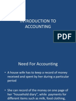 Intoduction to Accounting