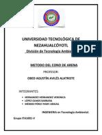 ITA-1001V López Olmos, Mendez Perez, Hernandez Hernandez, CONO DE ARENA