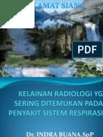 Gambaran Radiologi Yg Pada Kelainan Sistem Respirasi