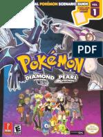 7061740 Pokemon Prima DP Strategy Guide