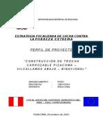 Carrtera Pizacoma