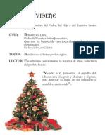 Bendicion Del Arbolito de Navidad