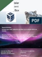 Como instalar Snow Leopard En Virtual Box