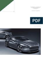 2011 Aston Martin V12 Vantage Brochure ENG