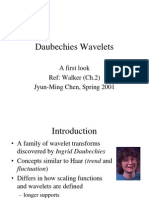 Daubechies wavelets