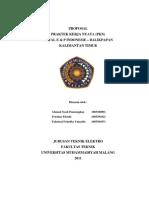 PROPOSAL PKN PT.TOTAL E&P INDONESIE