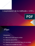 L_exploitation de la méthode UVA