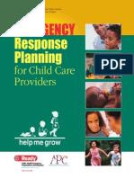 Child Care Emergency Response Manual