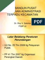 Pelayanan Administrasi Terpadu Kecamatan (PATEN)