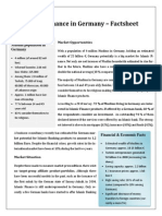 Islamic Finance in Germany Factsheet