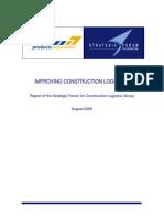 Logistics Report August 2005