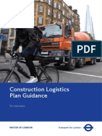 Construction Logistics Plan Guidance for Planners