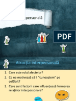 atractia interpersonala