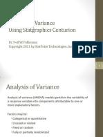 Analysis of Variance Webinar