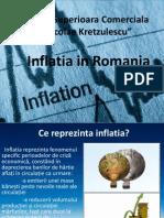 Inflatia in Romania