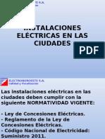 3.0 Inst. Electr. en Las Ciudades y Cne