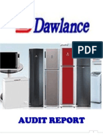Dawlance Audit Report