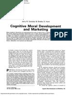Cognitive Moral Development and Marketing