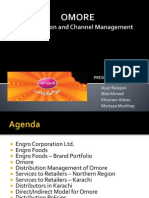 OMORE Distribution Channel Management
