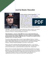 Fascismul Lui Benito Mussolini