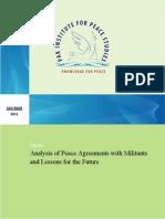 173585821 Analysis of Peace Agreements With Militants by Sohail Habib Tajik