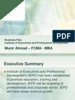 Business Plan - IEPD