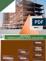 CAP. 2-MATERIALE PENTRU ELEMENTE MIXTE OȚEL-BETON