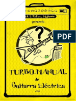 Turbo manual de guitarra electrica