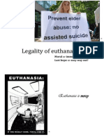 Ethical Analysis - Euthanasia