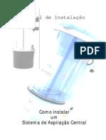 Manual de Instalação sistema de aspiracao central