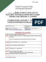 cooper syllabus