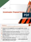 Grandmaster Sample Proposal Format