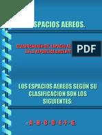CLASIFICACION ESPACIOS AEREOS