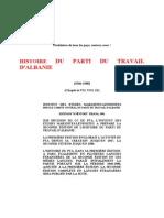 --Histoire Du Parti Du Travail d'Albanie (1966-1980)