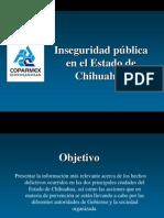 Estadísticas Chihuahua