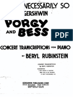 323105 Gershwin Porgy and Bess It Aint Necessarily So