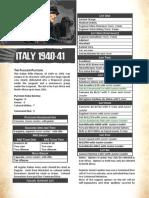 Italian Platoon 1940