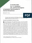 ETA Hoffman, Aesthetics, And German Romanticism