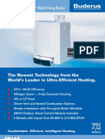 Buderus GB142 Ultra Efficient Hot Water Boiler Brochure