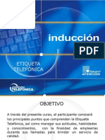 Inducción al call center