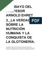 3º ENSAYO DE ARNOLD EHRET