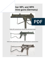 Walther MPL and MPK Submachine Gun (Germany)4