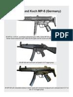 Heckler and Koch MP-5 Submachine Gun (Germany)1