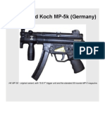 Heckler Und Koch MP-5k submachine gun (Germany)
