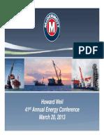 MDR - Presentation - 2013 Apr